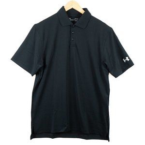 NWT Under Armour Corporate Black Performance Polo